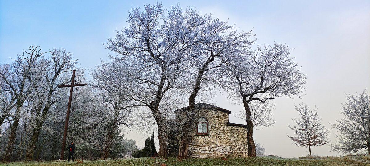 Kaplica św. Idziego na szlaku Dróżki św. Idziego w Olsztynie