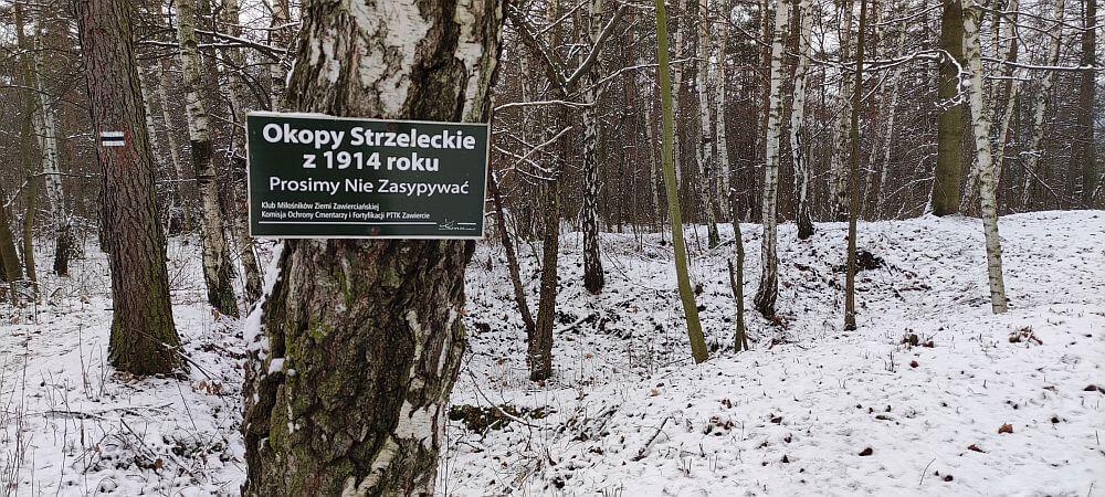Okopy Strzeleckie z 1914 r. w Kroczycach